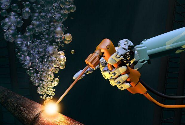what is underwater welding